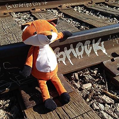 Manhattan Toy Folksy Foresters Fox Stuffed Animal: Toys & Games