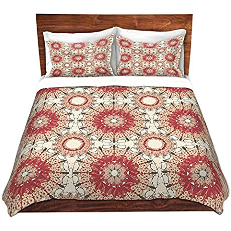 DiaNoche Designs Pattern C Cover Brushed Twill Twin Queen 8 King Duvet Sham Set