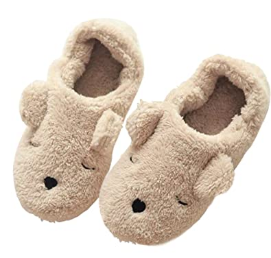 Women's & Men's Suede Fleece Slip On Slippers Indoor Soft Sole Memory Foam Slippers For Christmas GiftsNew Year's Gifts