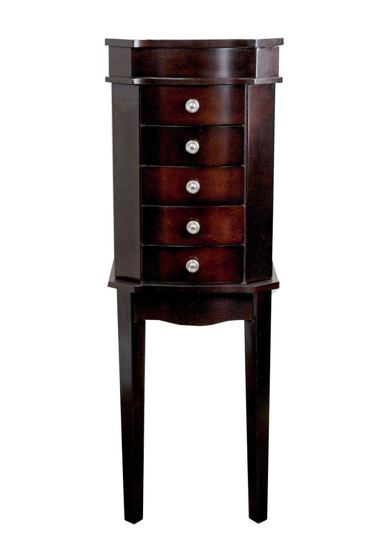 Hives & Honey Meg Espresso Jewelry Armoire 9006-837