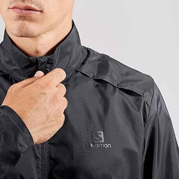 Amazon.com : Salomon Mens Agile Wind Jacket, : Clothing