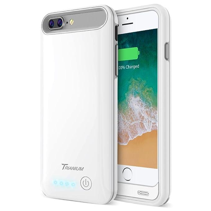 Amazon Com Iphone 8 Plus 7 Plus Battery Case Trianium Atomic Pro