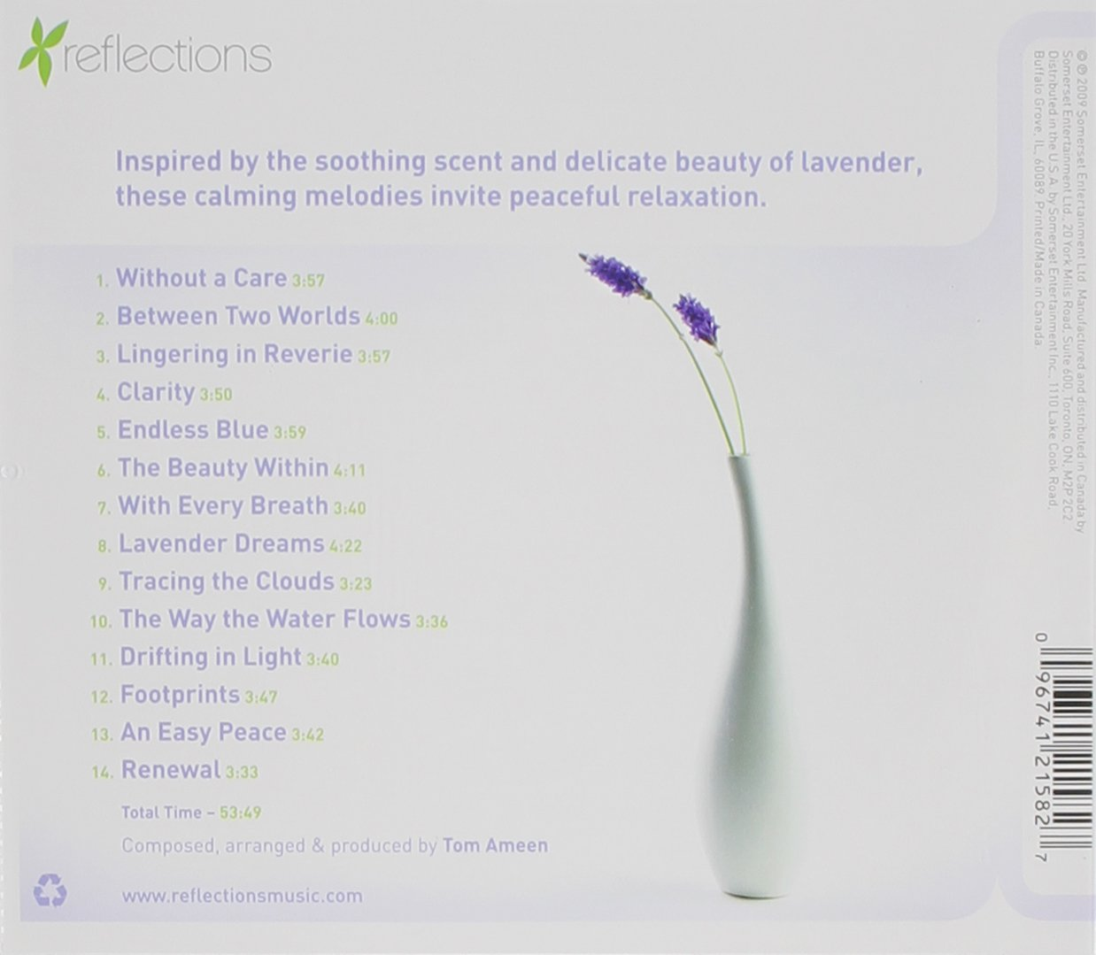 Tom Ameen Lavender Music for Relaxation Amazon Music – Ameen Invitation Cards