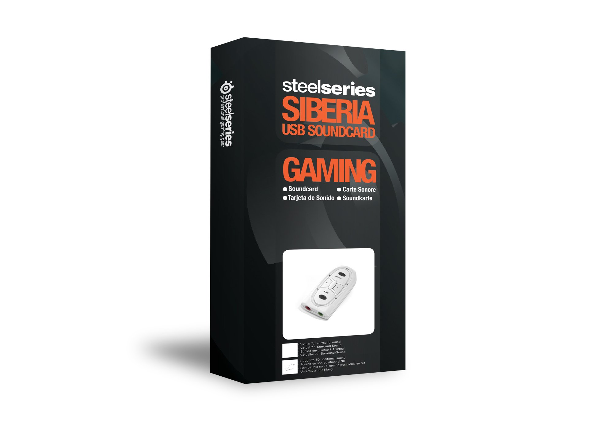 SteelSeries Siberia USB Sound Card (White) by SteelSeries (Image #1)