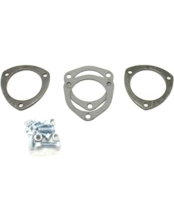 2.5in Collector Flange Donut Gasket Exhaust Header Kit Practical Accessory Aramox Exhaust Collector