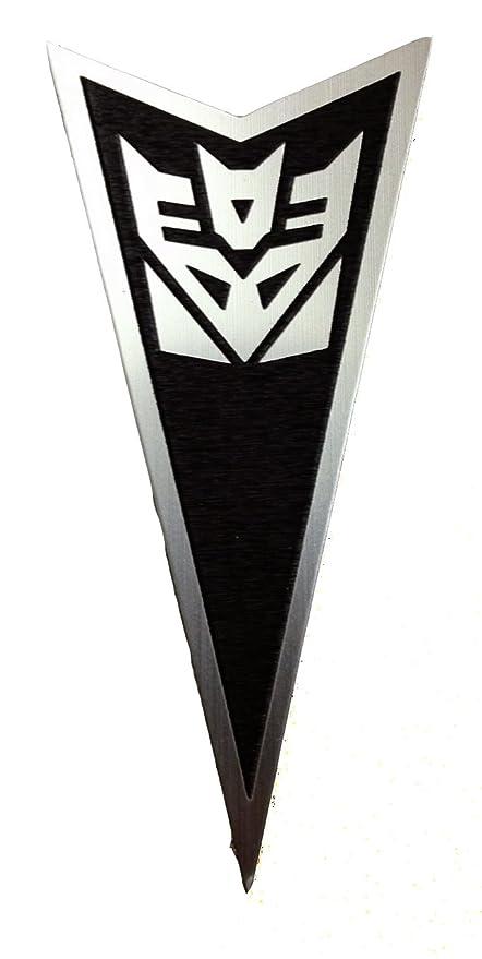 Pontiac G8 Front Badge Emblem Transformers Decepticon Black
