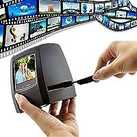 Film Scanner / Converter Ultra High-Resolution 5MP / 10MP 35mm Negative Film and Slide Scanner, 2.3 TFT LCD Display, Support SD Card