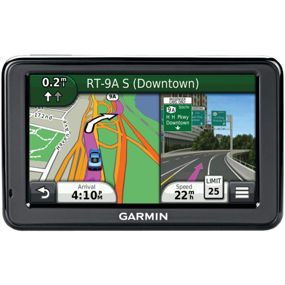Garmin nuvi 2455LM 4.3' Free Lifetime Map Update GPS North America US and Canada Map Included GRM0100128