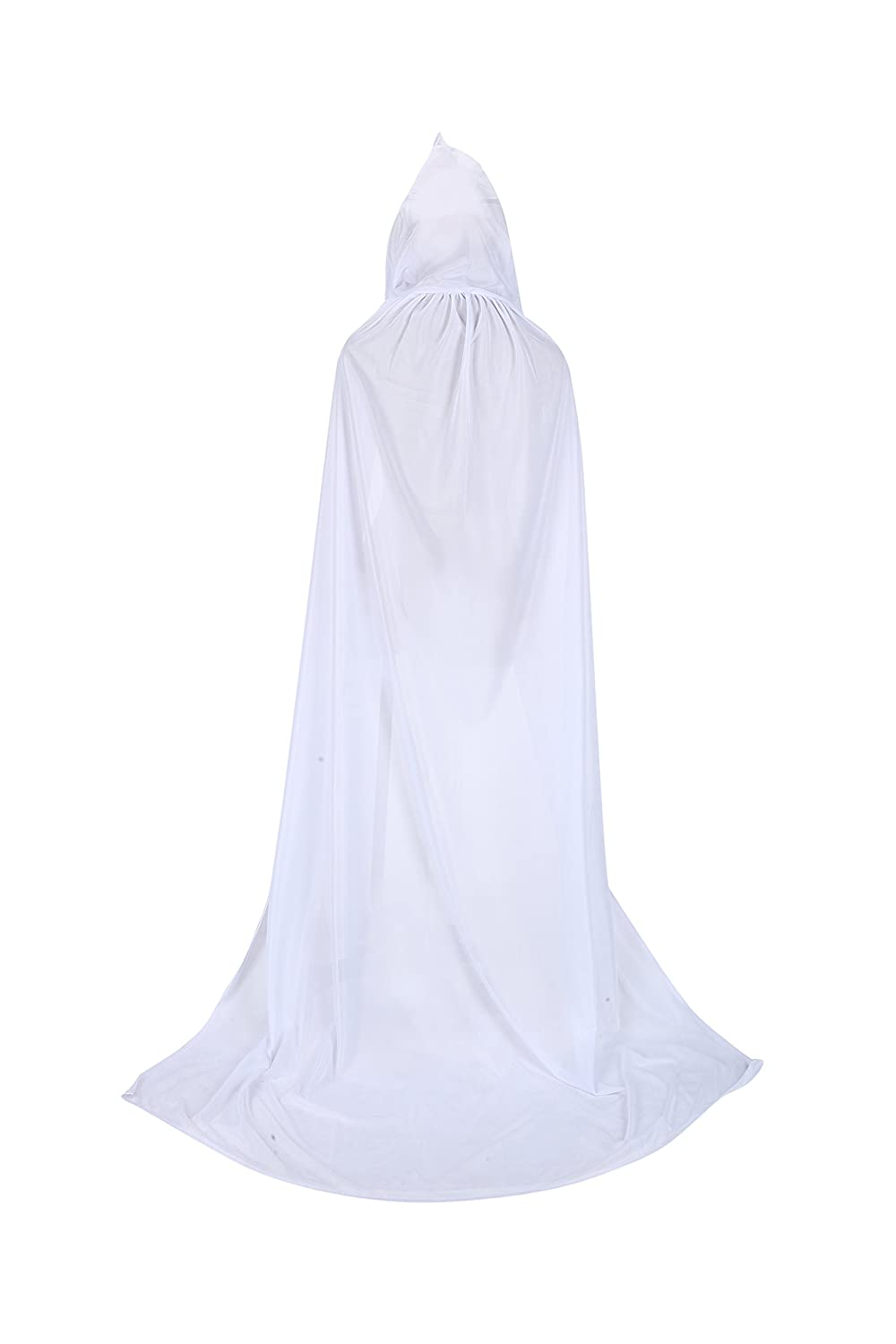 TULIPTREND Full Length Hooded Cloak Christmas Halloween Cosplay Costume Party Cape
