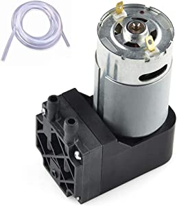 Vacuum Pump 12V Mini Diaphragm Air Compressor with Silicone Tube