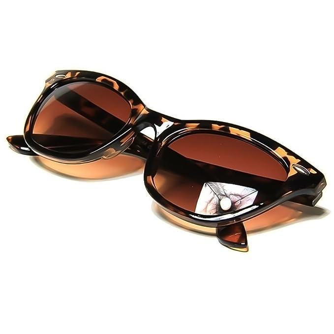 Lunettes de soleil KISS ®-mod. PIN-up cristaux Cat Eye-femelle vintage COOL lunettes de soleil mode - NOIR VvslRCH