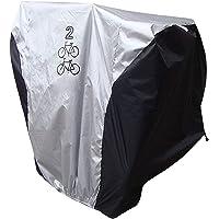 iwobi Waterdichte fietshoes voor 2 fietsen, anti-stof, hoes voor fiets en mountainbike