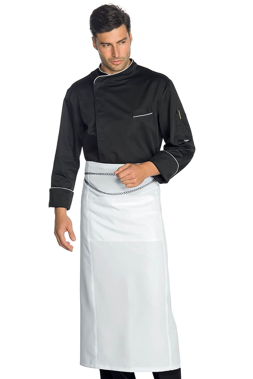 100/% Poliestere Superdry S Isacco Giacca Cuoco Modello Yokohama Bianco Manica Lunga Bianco