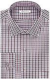 Van Heusen Men's Big & Tall Flex-Collar Dress Shirt, 18.5 36-37, Burgundy