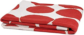 product image for in2green Eco Huey Throw by Susy Pilgrim Waters - 50 x 60 - Cherry
