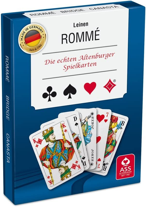 Ass Altenburger - Juego de cartas, 1 o más jugadores (versión en alemán) , color/modelo surtido: Amazon.es: Juguetes y juegos