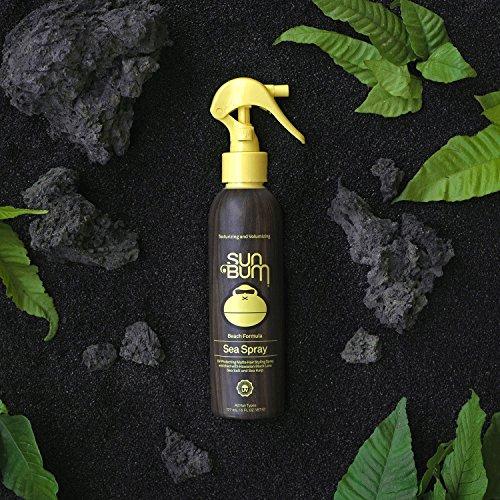 Sun Bum Sea Spray|Texturizing and Volumizing  Sea Salt Spray | UV Protection With a Matte Finish | Medium Hold | For All Hair Types | 6 FL OZ Spray Bottle