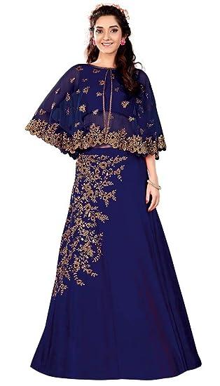 00f31b3227 INMONARCH Navy Blue Raw Silk Lehenga Choli LSR7012B: INMONARCH:  Amazon.co.uk: Clothing