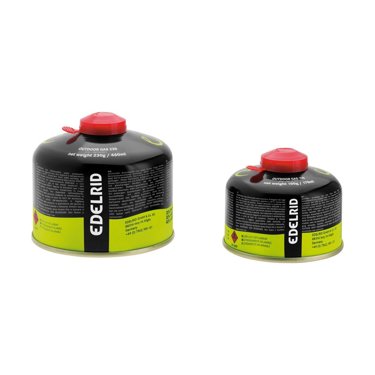 Edelrid Outdoor Gas 450, Groesse 100g