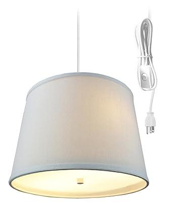 2 luz enchufe en lámpara de techo colgante por Casa concepto – Colgante Swag lámpara de