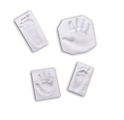 Baby Art 34120058 - Materiales para crear imanes con huellas de pie o mano