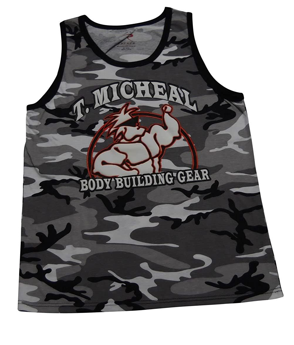 Micheal Camo Athletic Tank Top T #AT-102B