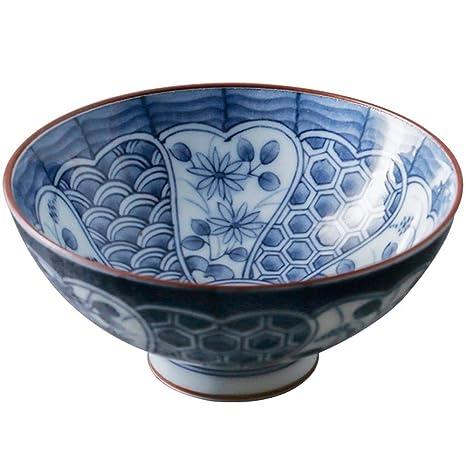 Amazon.com | Kitchen supplies Japanese Style Small Rice Bowl ...