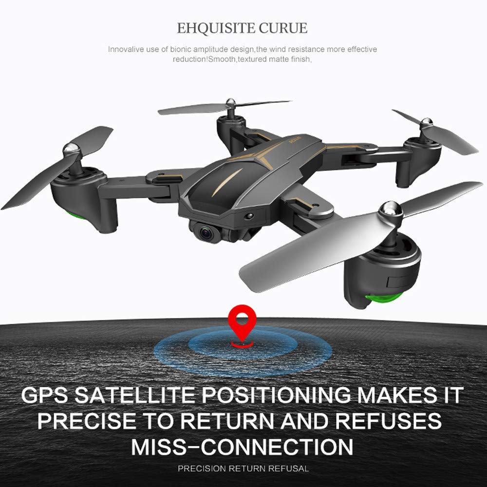 VISUO XS812 GPS 5G WiFi FPV 5MP 1080P HD Camera Foldable RC Quadcopter Drone by Sannysis (Image #6)