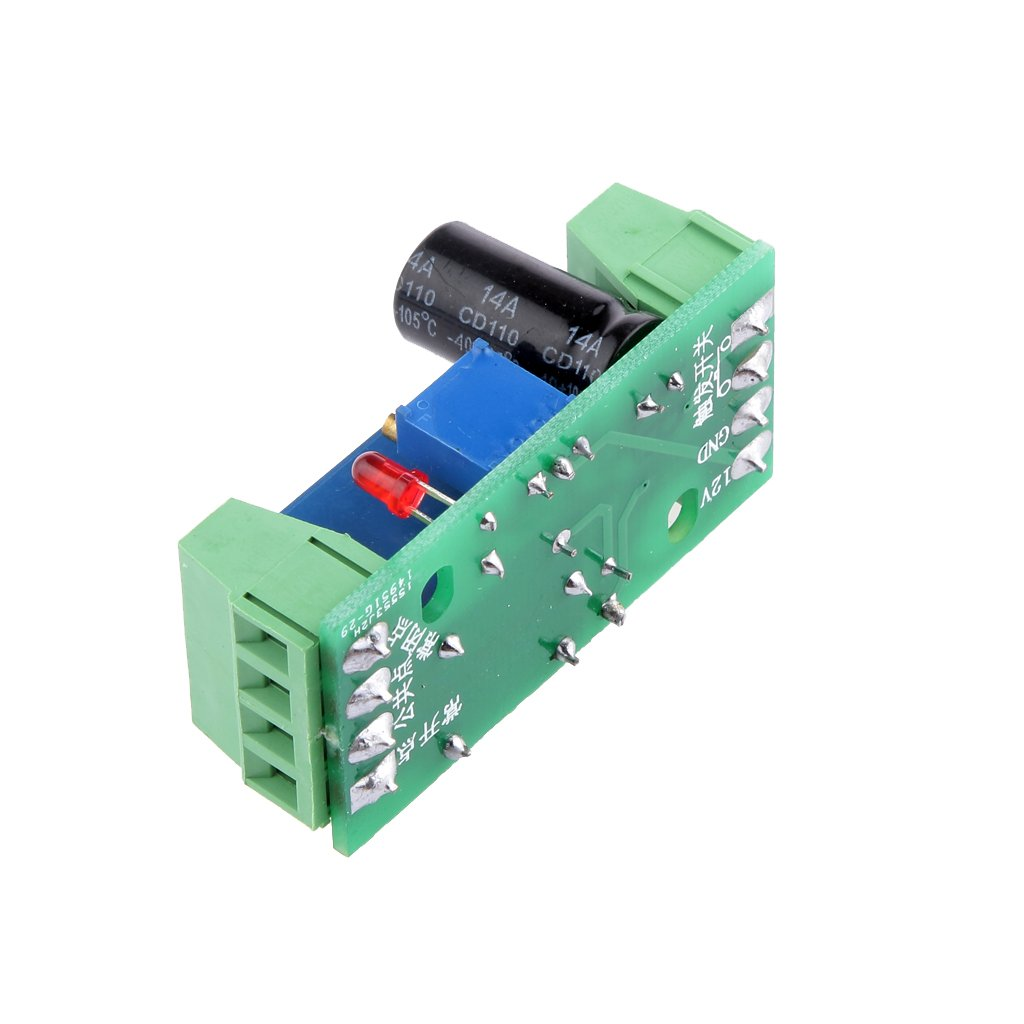 MagiDeal 5 Pieces DC 12V Delay Relay Shield NE555 Timer Switch Adjustable Module