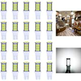 Antline T10 921 194 168 LED Bulbs White 20-Packs, Super Bright 3014 42-SMD LED Replacement 12 Volt RV Camper Trailer…