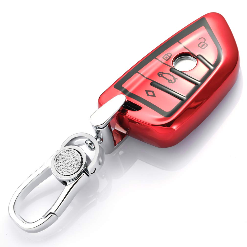 VANZAVANZU Car Key Chain Key Fob Keychain Men Keychain Key Rings Holder Key Organizer Car Key Chain for Women Keychain - S