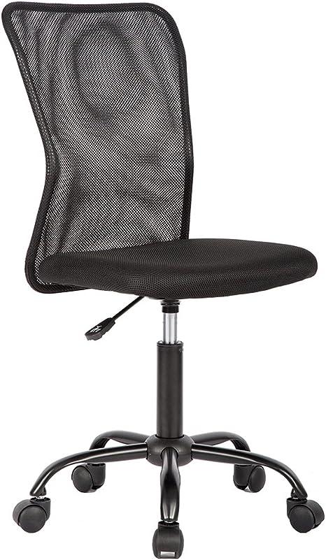 Amazon Com Ergonomic Office Chair Cheap Desk Chair Mesh Computer Chair Back Support Modern Executive Mid Back Rolling Swivel Chair For Women Men Furniture Decor