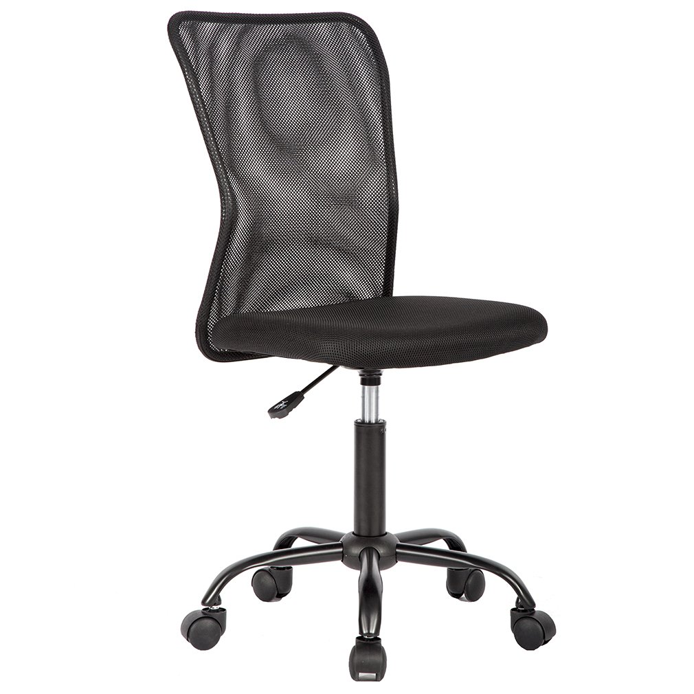 Ergonomic Office Chair Cheap Desk Chair Mesh Computer Chair Back Support Modern Executive Mid Back Rolling Swivel Chair for Women, Men by BestOffice