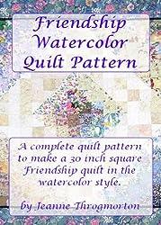 Friendship Watercolor Quilt Pattern