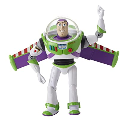 Toy Story Deluxe Space Ranger Buzz Lightyear 6