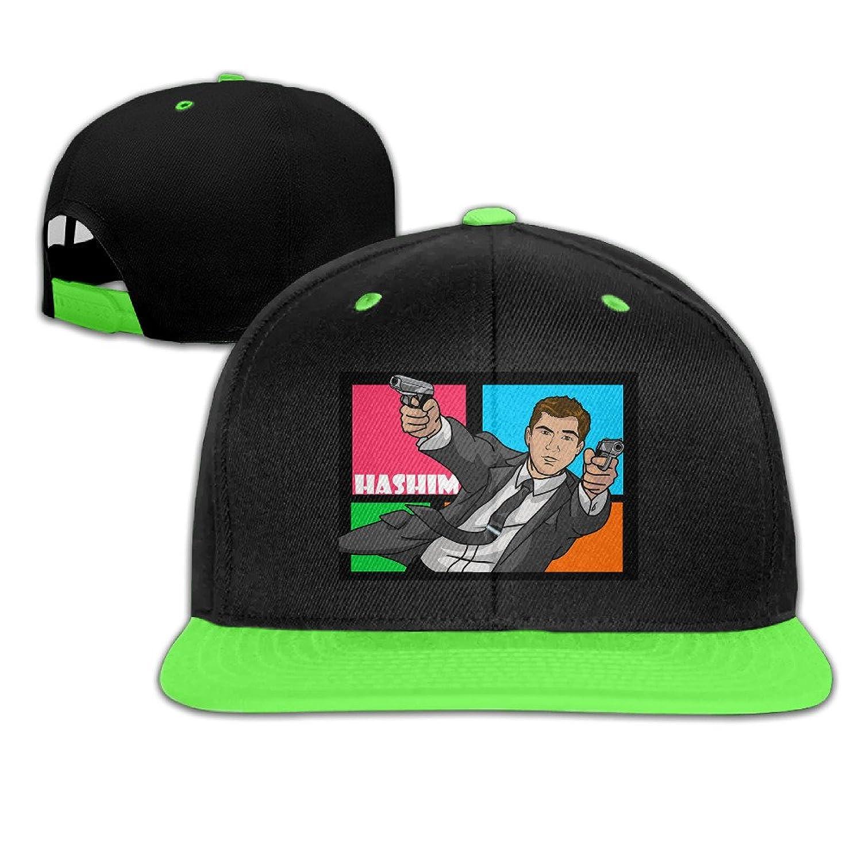 Archer Hashim Gun Design Boy Girl Children Hip-hop Hat Cotton Lovely