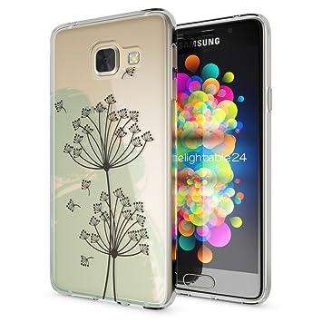 NALIA Funda Carcasa compatible con Samsung Galaxy A5 2017, Motivo Design Movil Protectora Ultra-Fina Silicona Cubierta, Goma Gel Estuche Bumper Ligera ...