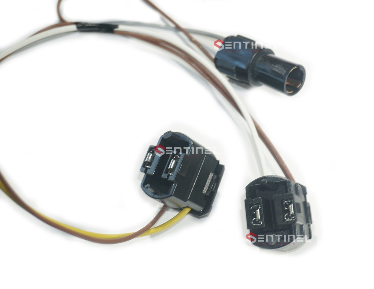 61JhXijC6DL._SL1295_ amazon com sentinel parts b360 99 03 mercedes w210 headlight wire OEM Wiring Harness Connectors at fashall.co