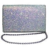 Womens Mini Purse Glitter Handbags Crossbody Bags Chain Shoulder for Girls