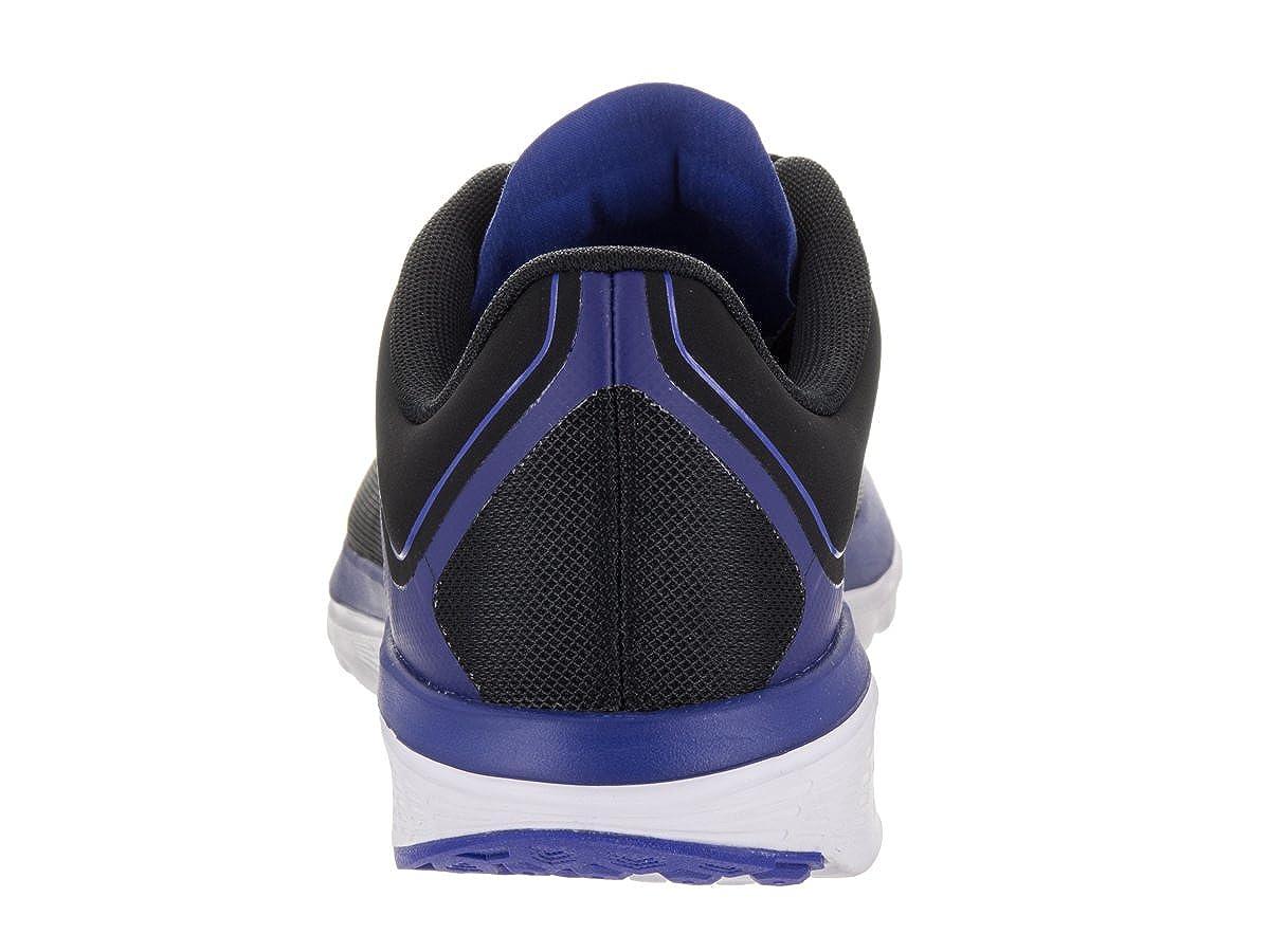 Nike Men FS Lite Run 4 Running Shoe – Black Racer Blue