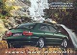 1998 Proton Wira Aeroback Mitsubishi Brochure