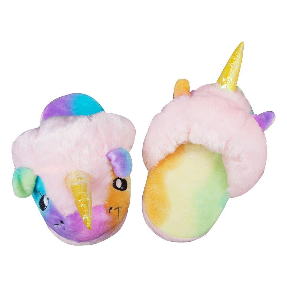 Fox Unisex Felpa Unicorno Animale Adulti Pantofole Rainbow Pantofole 6gZBqB