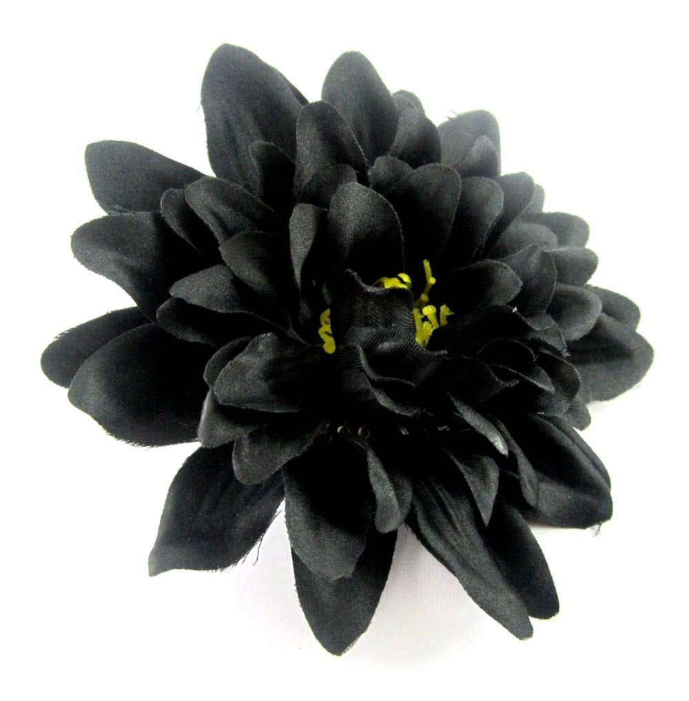 Amazon 12 black silk dahlia flower heads 4 artificial amazon 12 black silk dahlia flower heads 4 artificial flowers dahlias head fabric floral supplies wholesale lot for wedding flowers accessories izmirmasajfo Gallery