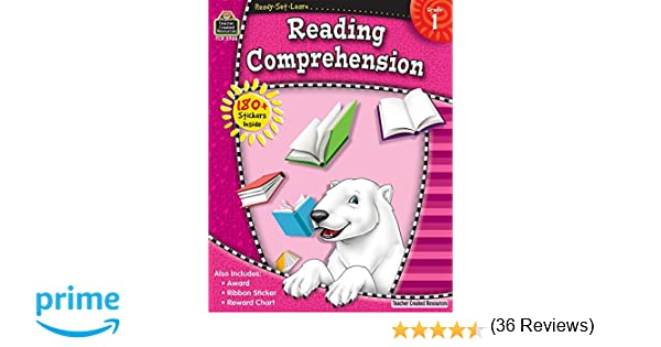 Amazon.com: Ready-Set-Learn: Reading Comprehension, Grade 1 ...