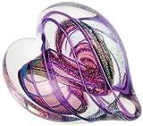 Glass Eye Studio Hearts Of Fire Amethyst
