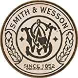 Smith & Wesson Round Metal Tin Sign 11 by 11 inches 1 count