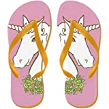 CafePress - Unicorn3.Png - Flip Flops, Funny Thong Sandals, Beach Sandals
