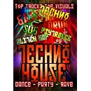 Techno House: Dance, Party, Rave Techno Music