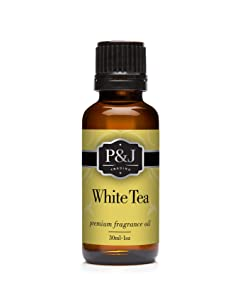 White Tea Fragrance Oil - Premium Grade Scented Oil - 30ml
