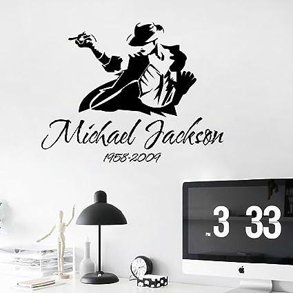 Aiwall 9174 DIY Wall Decal Michael Jackson Art Poster Sticker Home Decoration